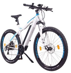 Bici eléctrica de montaña NCM con 6 modos de configuración