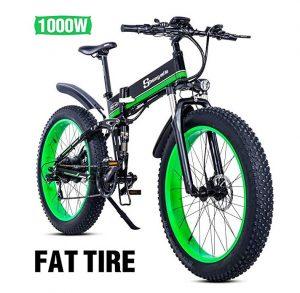 Bici eléctrica de montaña Shengmili con ruedas de 26 pulgadas