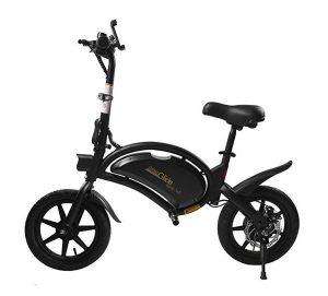 Bicicleta eléctrica sin pedales Urban Glide con ruedas de 14 pulgadas