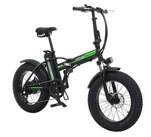 Bicicleta eléctrica de montaña Shengmilo plegable