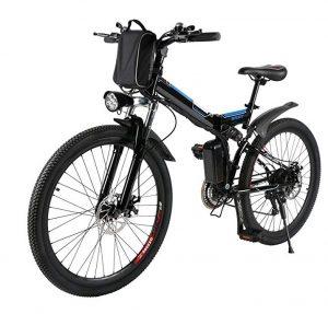 Bicicleta eléctrica plegable AMDirect para ciudad