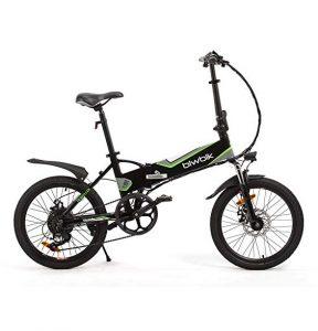 Bicicleta eléctrica plegable Biwbik segura