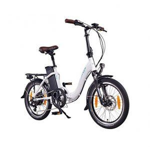 Bicicleta eléctrica plegable NCM con 6 modos de conducción