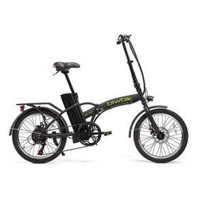 Bicicletas eléctricas plegables Biwbik con luz trasera y delantera
