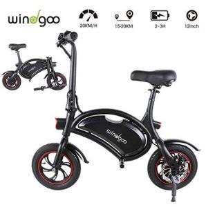 Bicicletas eléctricas sin pedales Windgoo de carga rápida