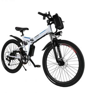 Bicis eléctricas de montaña Cooshional con 3 modos de trabajo