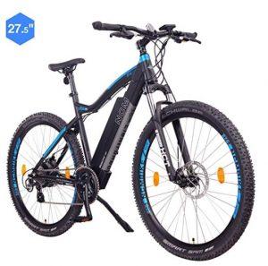 Bicis eléctricas de montaña NCM con 21 velocidades