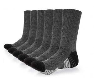 Calcetines de compresión Coskefy con tejido acolchado