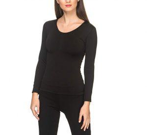 Camiseta térmica Ysabel Mora para mujer con afelpado interno