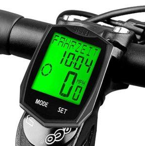 Cuentakilómetros de bicicletas Dinoka con pantalla grande