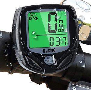 Cuentakilómetros de bicis Mitening multifunciones