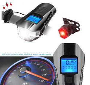 Cuentakilómetros para bicicleta Daskoo multifunción