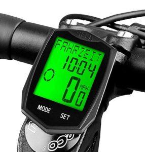 Cuentakilómetros para bicicletas Dinok con gran pantalla