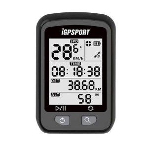 Cuentakilómetros para bicicletas iGPSPORT con función de ciclocomputador