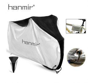 Funda para bicicletas Hanmir en blanco y negro