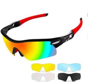 Gafas de ciclismo CrazyFire con protección UV 400