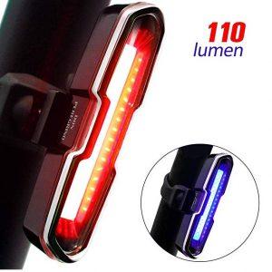 Luces traseras para bicis Donperegrino con 110 lm