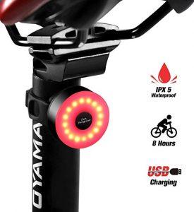 Luces traseras para bicis Donperegrino con 8 horas de duración