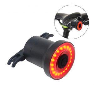Luces traseras para bicis Dracarys con sensor automático