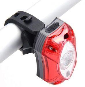 Luz de iluminación trasera para bicicletas Broadroot con batería recargable
