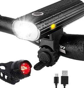 Luz delantera para bicis Leynatic de larga duración