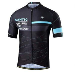 Maillots de ciclismo SANTIC reflectantes