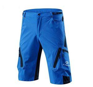 Pantalones de ciclismo X-Tiger con 7 bolsillos