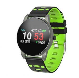 Reloj pulsómetro Motok con alertas por vibración