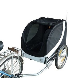 Remolque para bici Homcom fácil de instalar