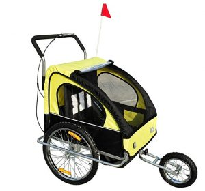 Remolques para bicicletas Homcom para niños