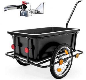 Remolques para bicis Deuba con capacidad de 80 kg