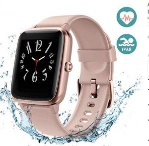Smartwatch con pulsómetro Arbily con pantalla grande