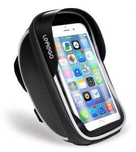 Soporte de móvil para bicis Lemego con bolsillo