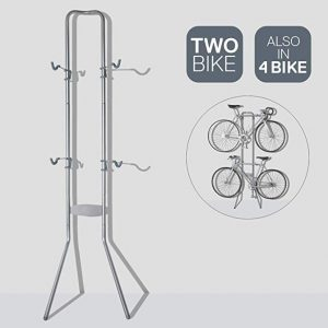Soportes de bici para pared Delta para dos piezas